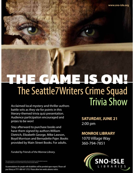 Crime Squad June 21 event